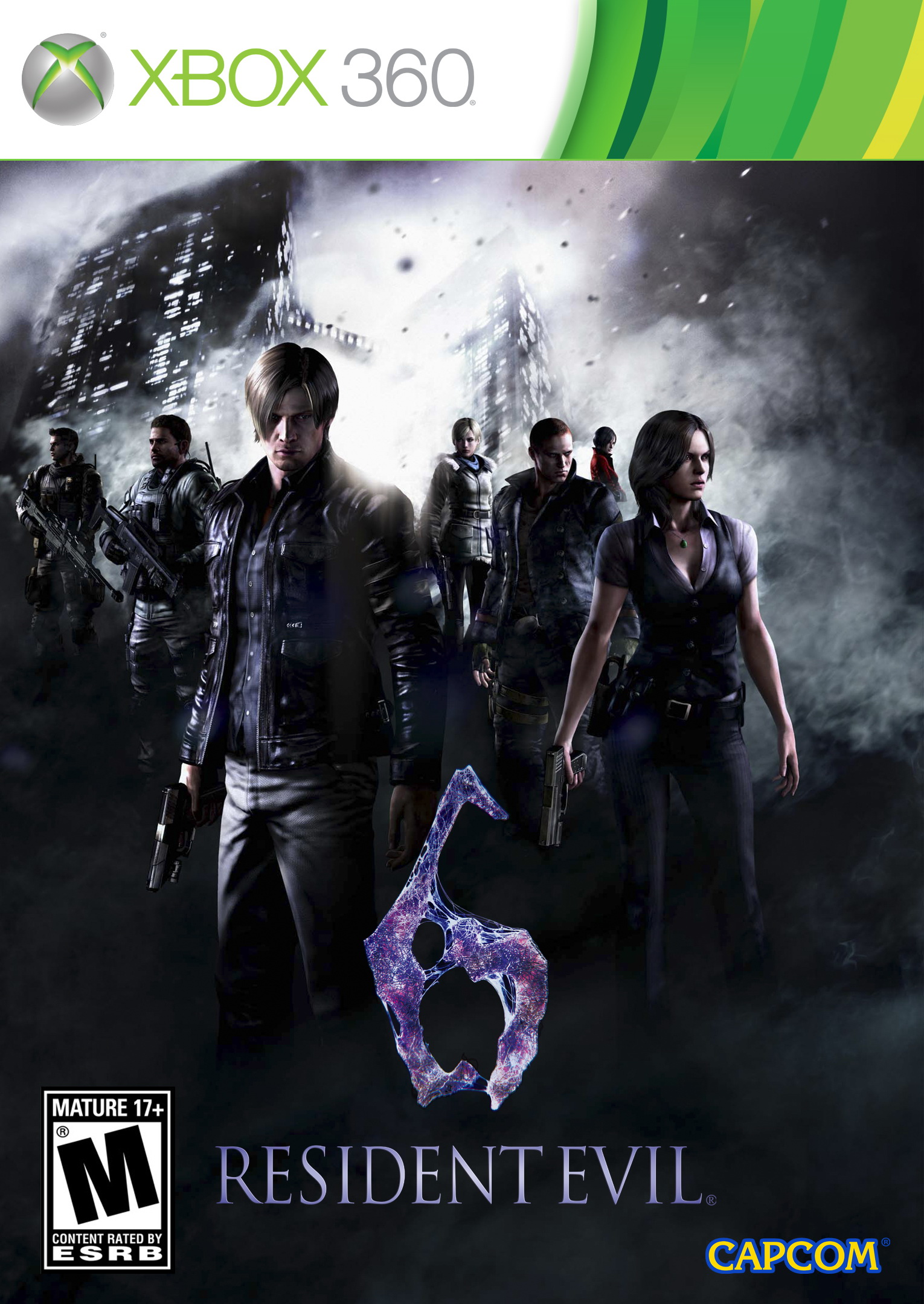 Скачать Resident Evil 6 Steam Co-op Crack 2013 / English торрент.