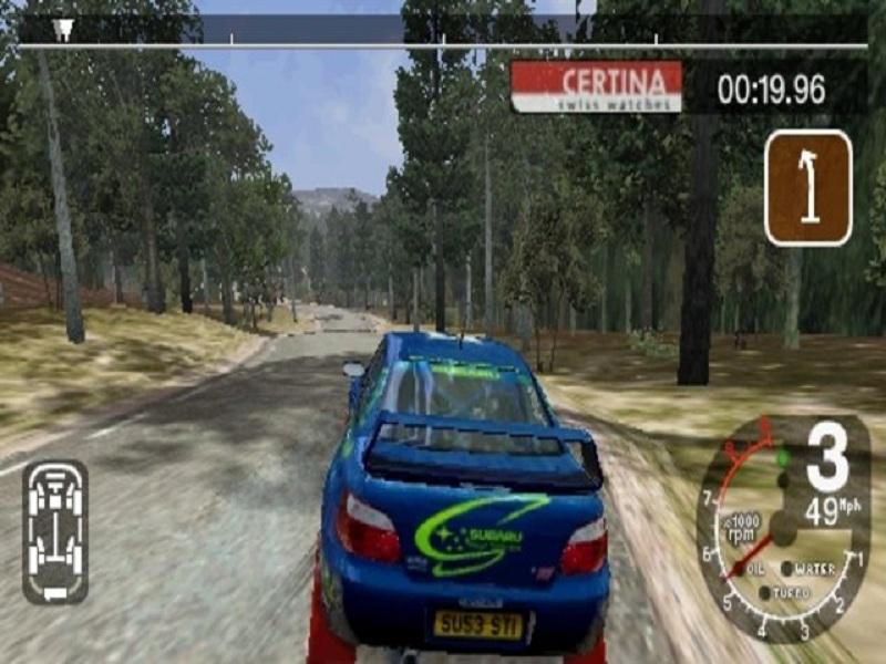 Игра Colin McRae Rally 2005 - обзор игры, прохождение, патч. скачать dest..