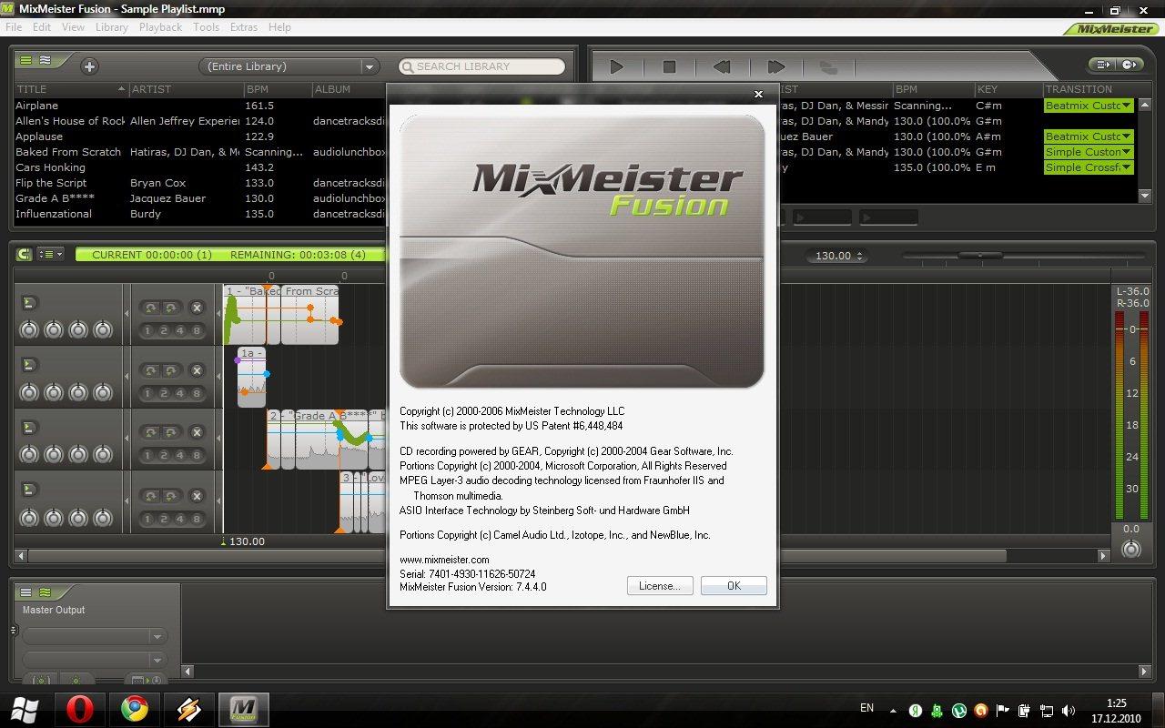 MIXMEISTER FUSION 7.4.4 RUS СКАЧАТЬ БЕСПЛАТНО