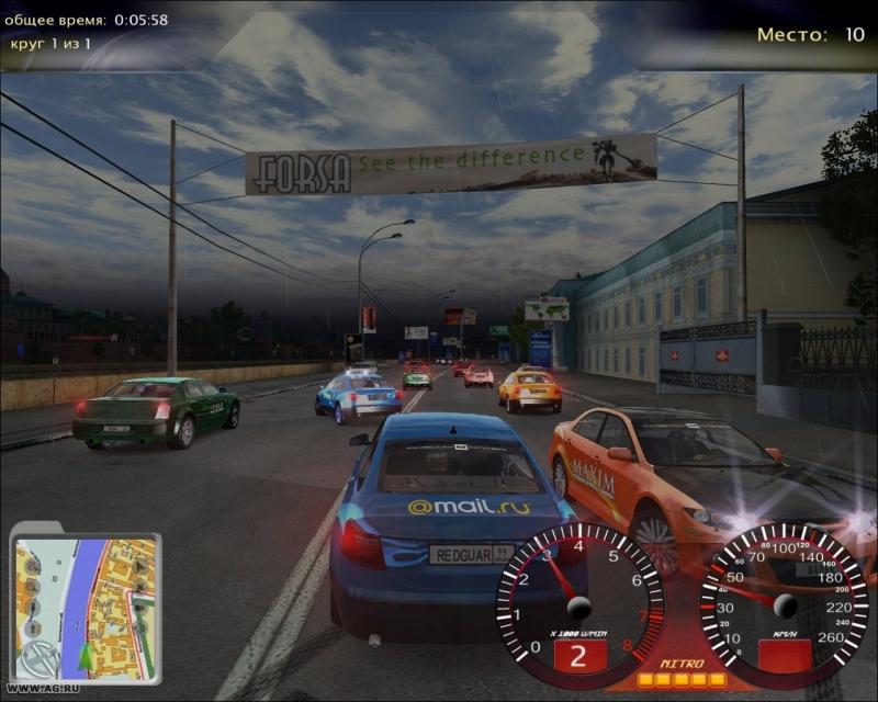 Разместил. Moscow Racer (2009/PC/RePack/Rus) от topchik94. devil/Комментар