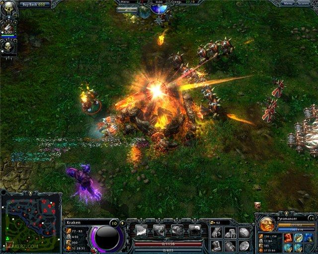 Скачать игру: Heroes Of Newerth (2009/ENG/BETA) noindex.